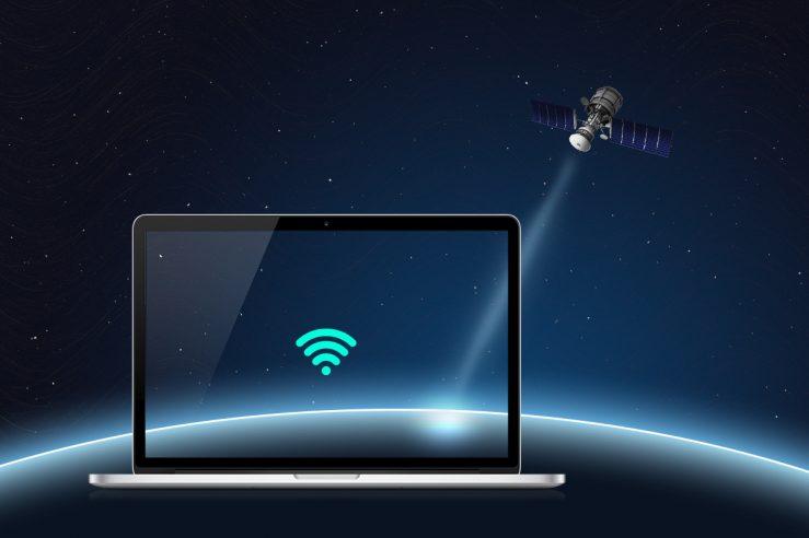 Internet via satélite - Conectando o mundo do espaço